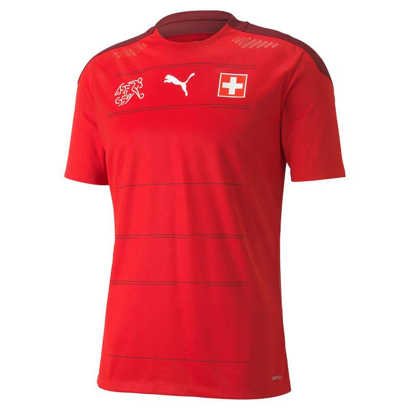 JINÉ NÁRODNÍ TÝMY Fotbal - REPLIKA DRESU ŠVÝCARSKO PUMA - Fotbalové oblečení