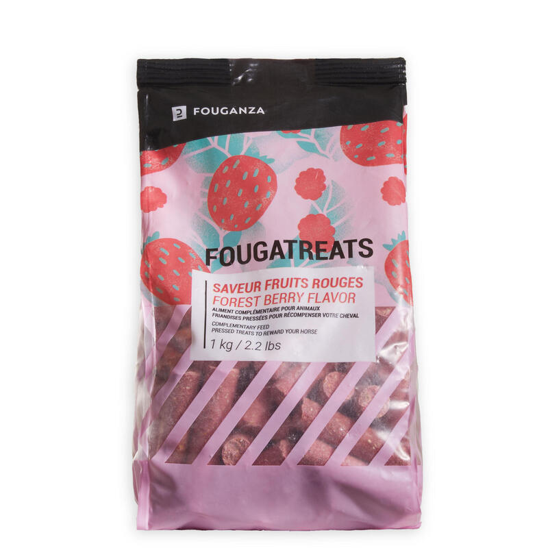 Fougatreats Horse Riding Treats For Horse/Pony 1kg - Red Berries