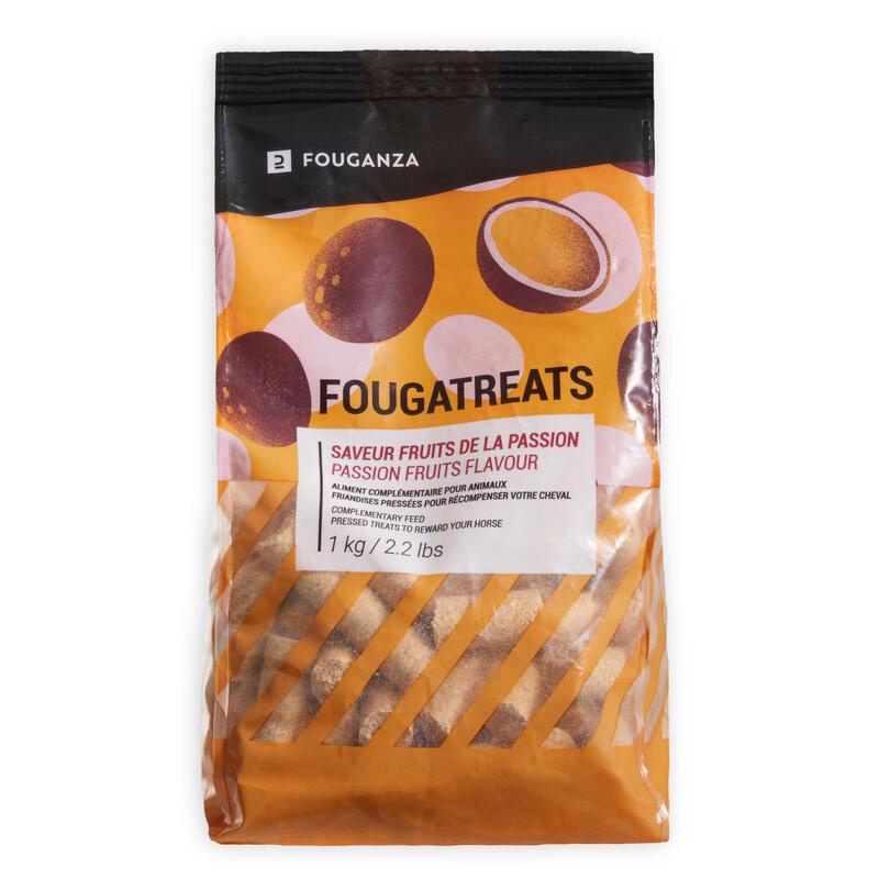 Golosinas Equitación Caballo/Poni Fougatreats Fruta Pasión - 1 kg