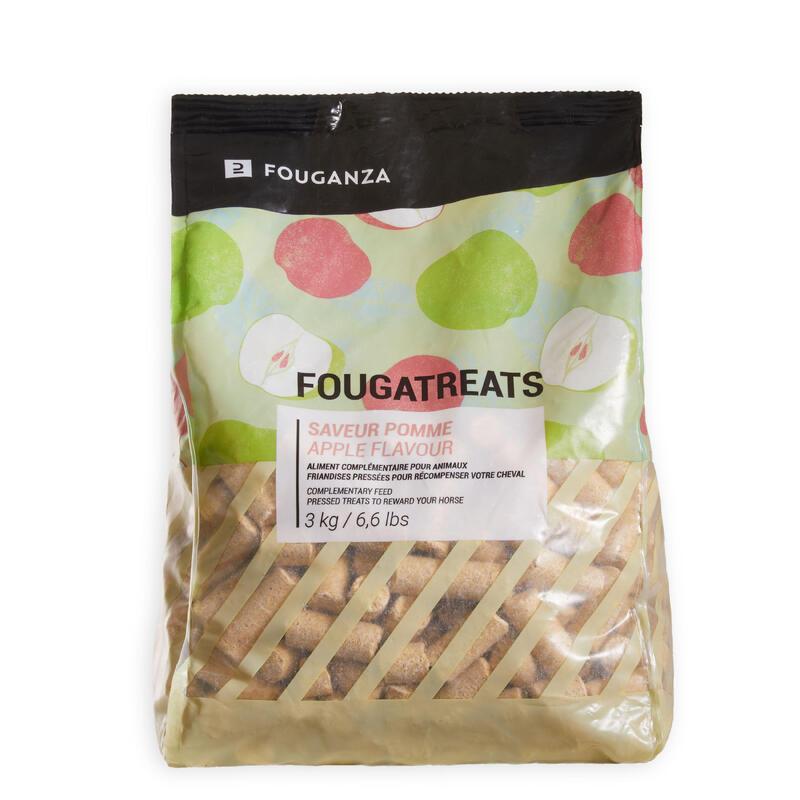 Golosinas Equitación Caballo/Poni Fougatreats Manzana - 3 kg