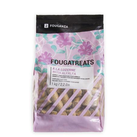 Fougatreats Horse Riding Treats For Horse/Pony 1kg - Alfalfa