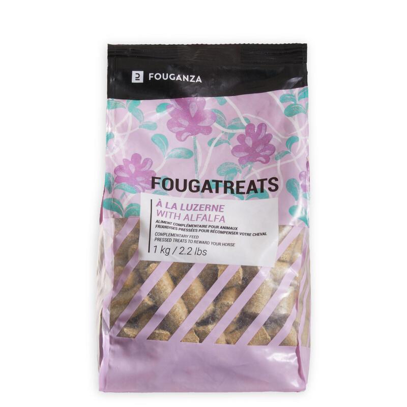 Golosinas Equitación Caballo/Poni Fougatreats Alfalfa - 1 kg