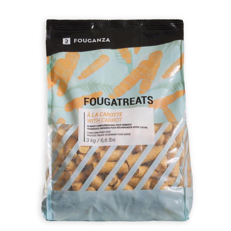 Golosinas Equitación Caballo/Poni Fougatreats Zanahoria - 3 kg