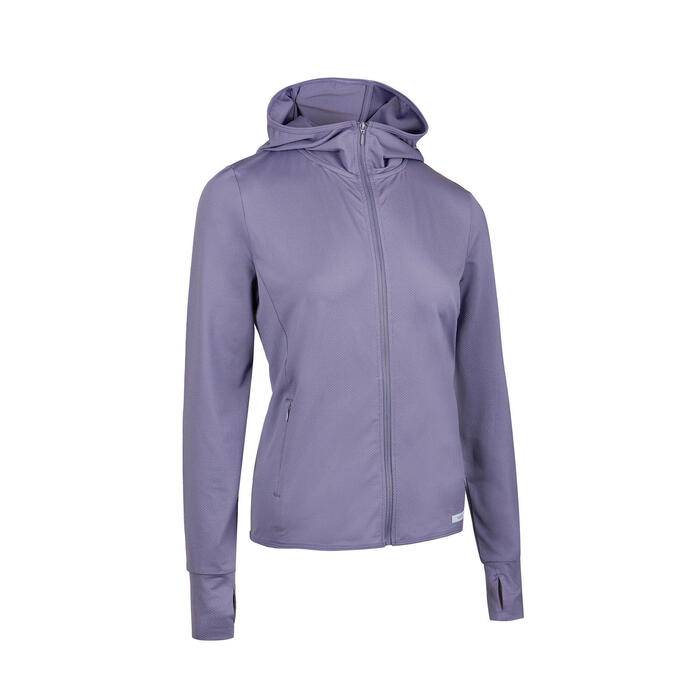 JACKET SUN PROTECT WOMEN BLUE