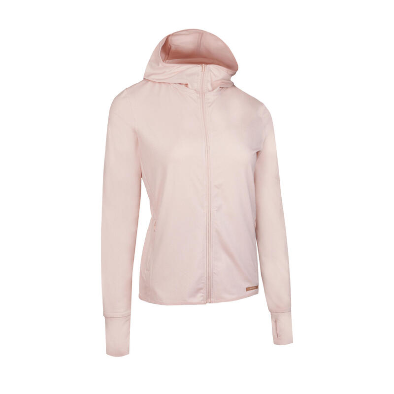 女款外套SUN PROTECT - 粉色