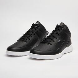 Men's/Women's Beginner High-Rise Basketball Shoes SHIELD 100-Black