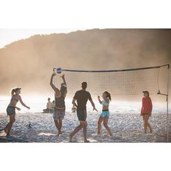 Set (Filet et poteaux) de beach volley loisir BV 500 (6m) bleu