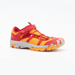男童涼鞋 MH150 JR 紅色