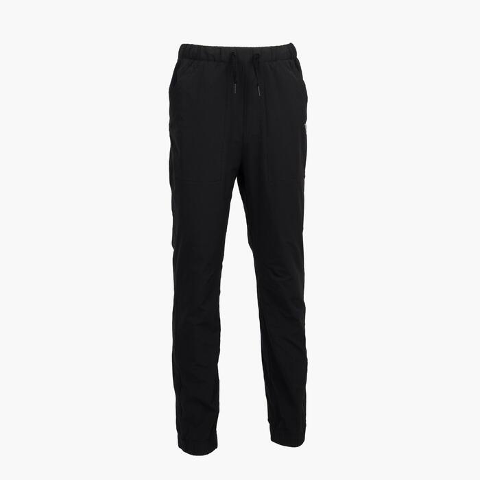 男童款長褲MH100 TWEEN-黑色