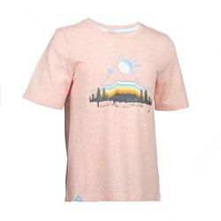 女童T恤MH100 - 粉色