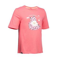 女童T恤MH100 - 淺粉色