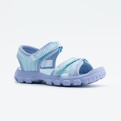 HIKING SANDALS - MH100 - BLUE - KIDS - SIZE 24 TO 31