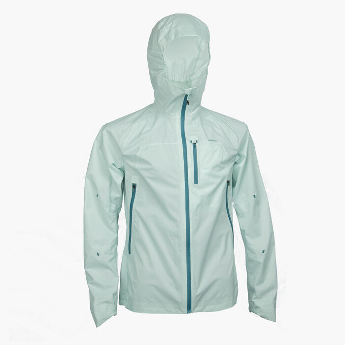 Women's Jacket FH500 Rain - Grey