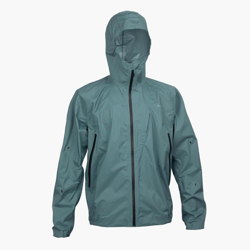 男款防水外套FH 500 - 綠色