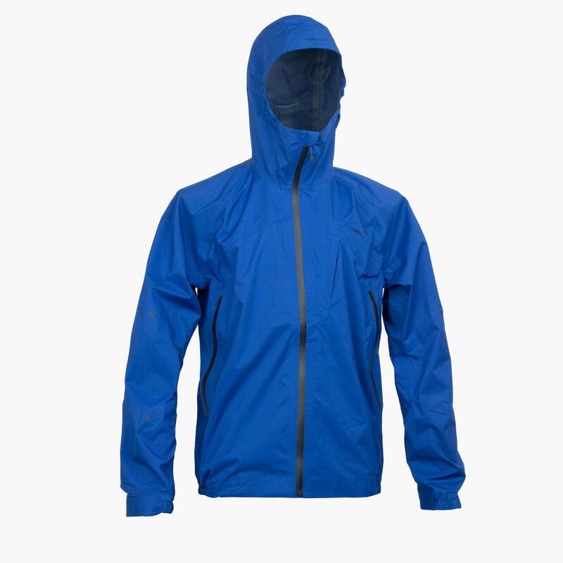Men's Waterproof Jacket FH500 - Blue