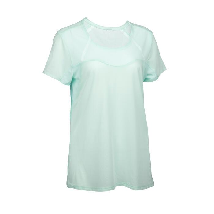 女款極速健行短袖T恤FH500 Helium