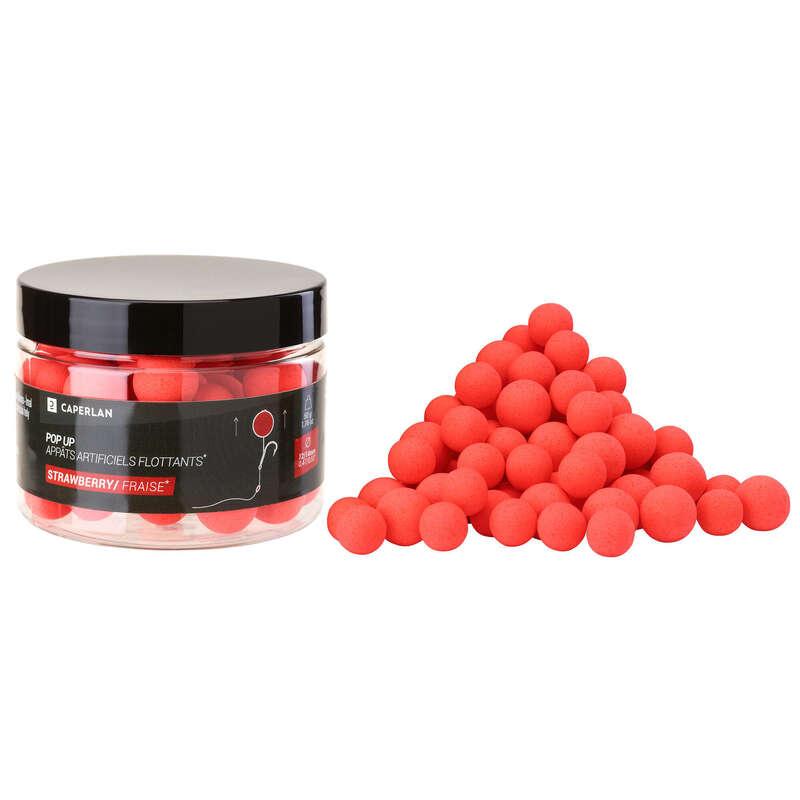 MOMELI CRAP Pescuit - Pop-ups 12-14mm Căpșuni CAPERLAN - Nade, Echipament nadire