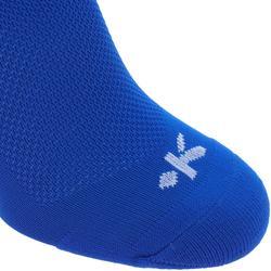 Voetbalsokken / voetbalkousen F100 blauw