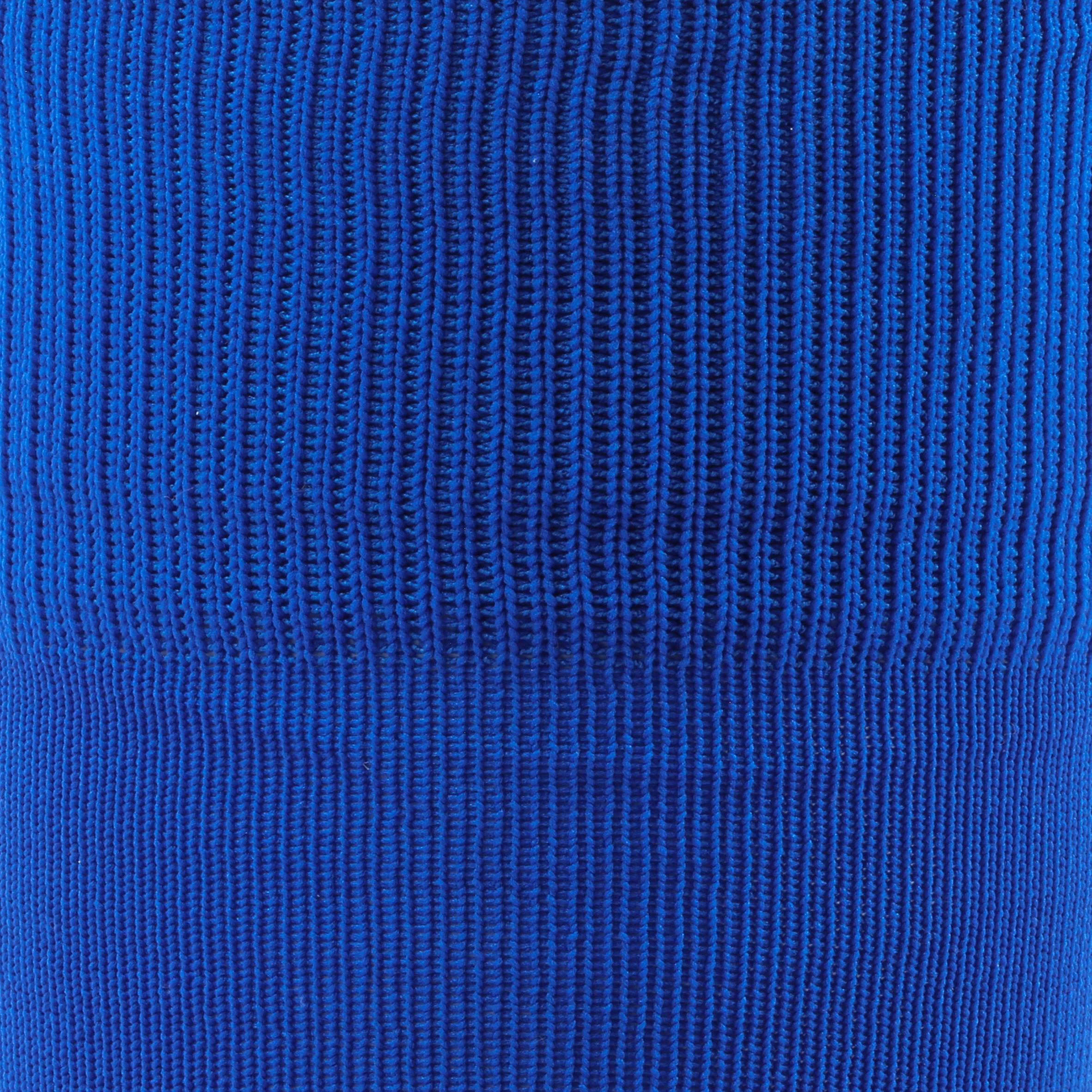 Chaussette de soccer adulte F100 bleue