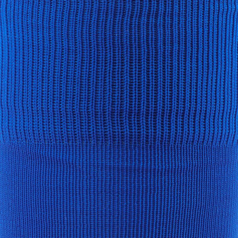 ถุงเท้าฟุตบอลสำหรับเด็ก F100 (สีฟ้า)