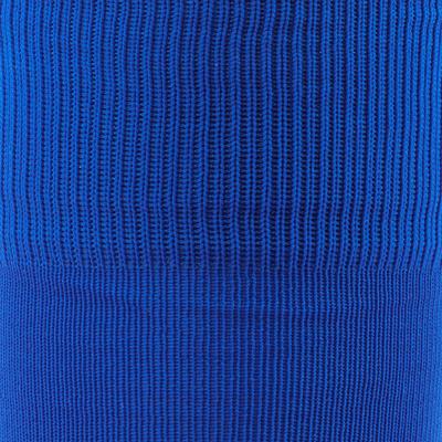 Medias largas de fútbol adulto F 100 azul