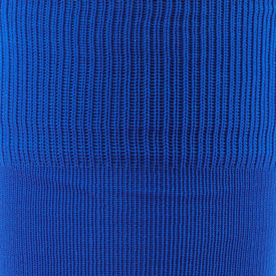 Medias largas de fútbol niños F 100 azul