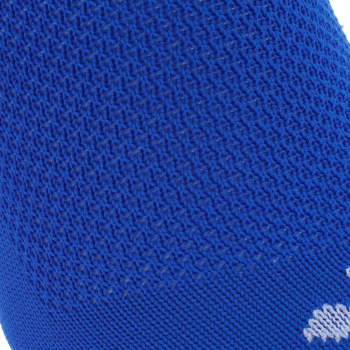 Chaussette de football enfant F100 bleue