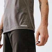 TEE SHIRT RUNNING HOMME RESPIRANT KALENJI DRY + GRIS