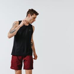 Men's Running Tank Top Run Dry - black