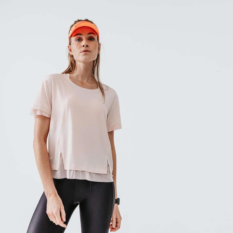 Női tavasz-nyári ruházat - rendszeres Futás - Női futópóló RUN FEEL KALENJI - Futás
