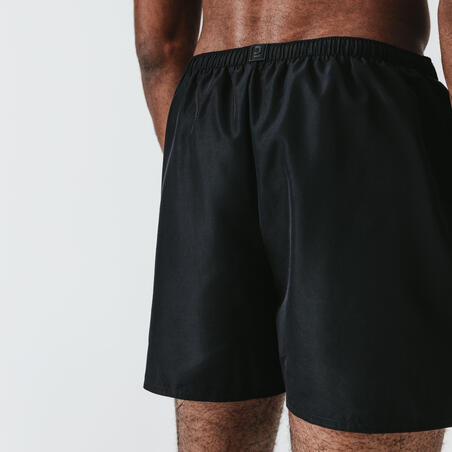 KALENJI DRY MEN'S BREATHABLE RUNNING SHORTS - BLACK
