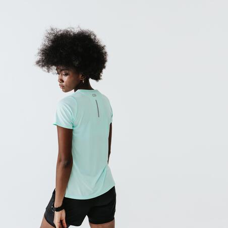RUN DRY WOMEN'S T-SHIRT - PASTEL GREEN