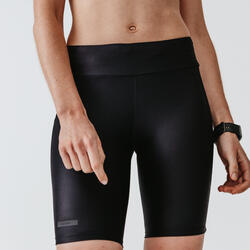 Women's Running Tight Shorts Run Dry - black