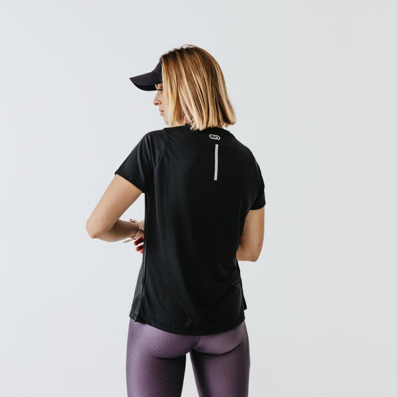 Polera Running Run Dry Mujer Negro