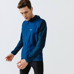Men's Running Wind Jacket Run Wind - Prussian blue