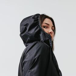 女款慢跑防風外套Run Wind - 黑色