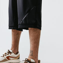 Run Dry+ Men's Running Cropped Trousers - Black