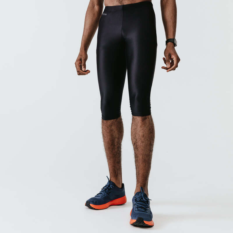 ERKEK HOBİ AMAÇLI KOŞU SICAK HAVA GİYİM Koşu - RUN DRY KAPRİ  KALENJI - Erkek Koşu Kıyafetleri