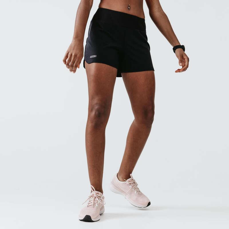 ÎMBRĂCĂMINTE DIN MATERIAL RESPIRANT JOGGING PRACTICARE OCAZIONALĂ DAMĂ Alergare - Șort Jogging Run Dry Damă KALENJI - Imbracaminte