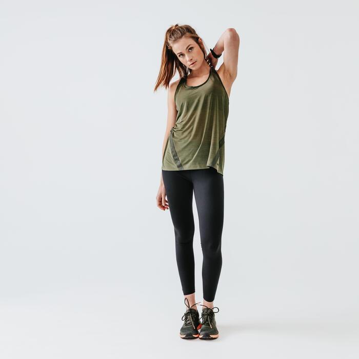 RUN SUPPORT LEGGINGS - BLACK