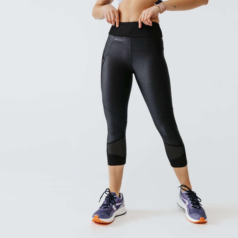 ÎMBRĂCĂMINTE DIN MATERIAL RESPIRANT PRACTICARE CONSECVENTĂ DAMĂ Alergare - Colanţi Run Dry+Feel Damă  KALENJI - Imbracaminte