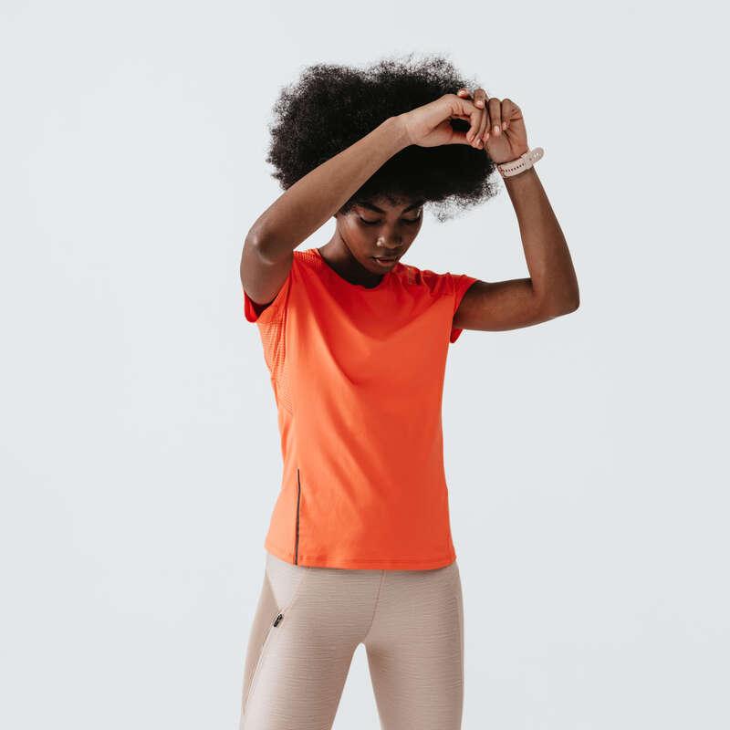 Női tavasz-nyári ruházat - rendszeres Futás - NŐI FUTÓPÓLÓ Dry+  KALENJI - Futás