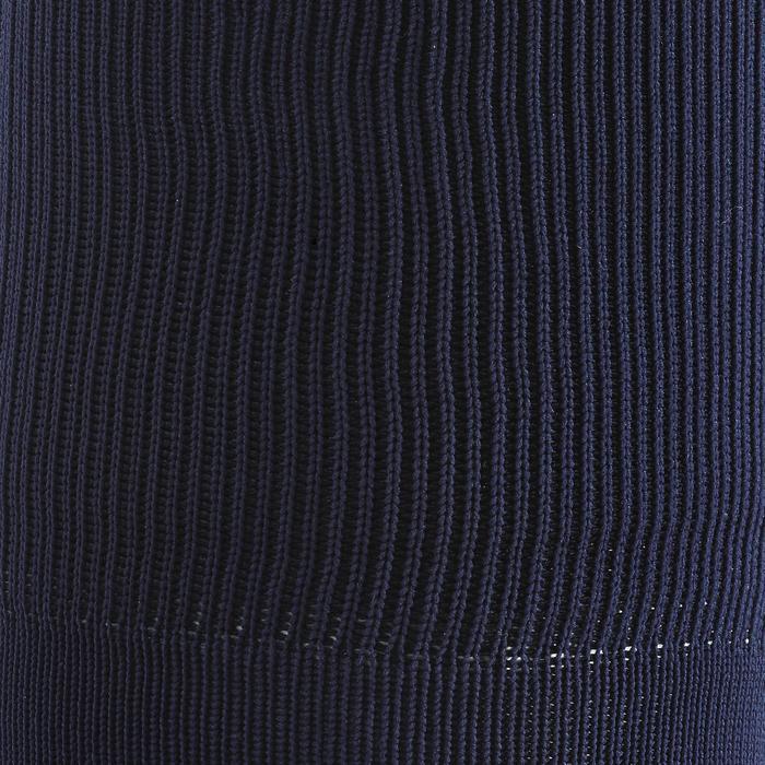 Chaussette de football adulte F500 noire et grise - 197468