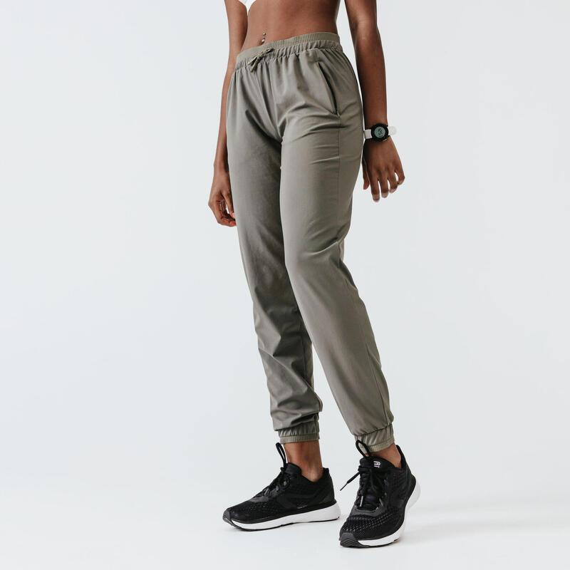 Spodnie do biegania damskie Kalenji Run Dry