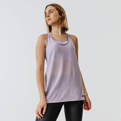 RUN LIGHT WOMEN'S TANK TOP - MAUVE
