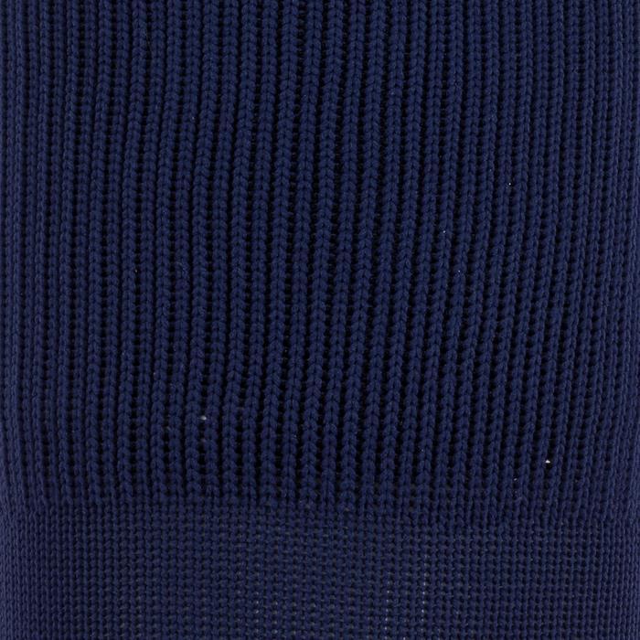 Chaussette de football enfant F500 noire et grise - 197476