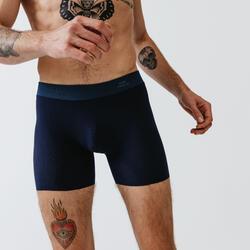 Boxer seamless running uomo azzurri