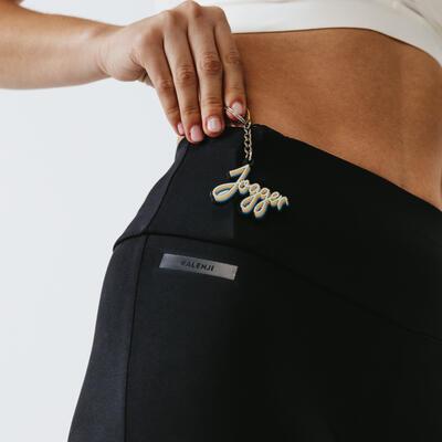 Run Support Women's Short Leggings - Black