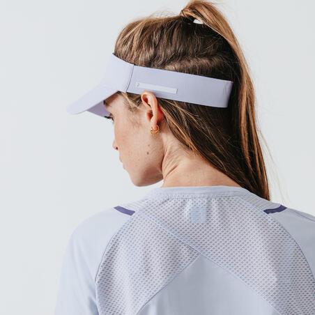Jogging Visor - Lavender Pastel Blue
