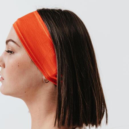 Bėgimo galvos juosta, aštri oranžinė